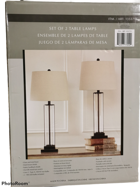 Table Lamps 2pack