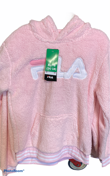 Girls Fila fuzzy sweater