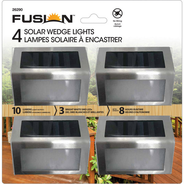 Fusion solar wedge lights