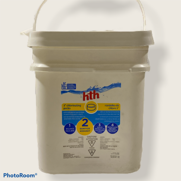 "Hth 3"" Chlorinating Pucks"
