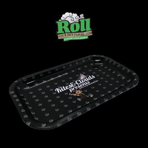 Promotional rolling tray
