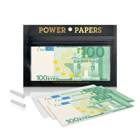 POWER PAPERS™ EUR€100 Rolling Paper