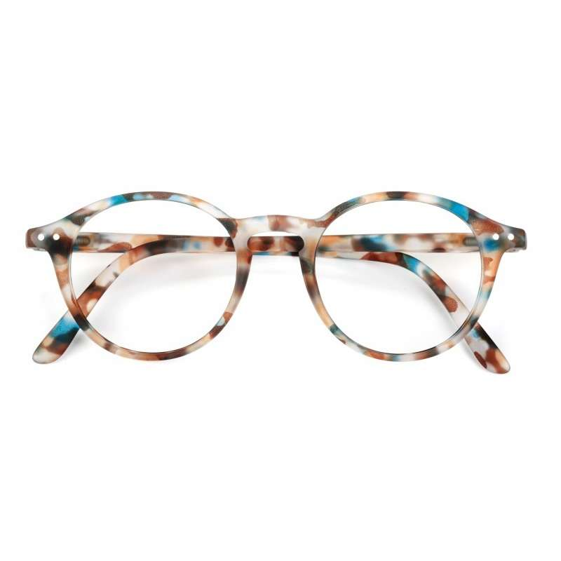 #D Screen Junior Sunglasses | Blue Tortoise