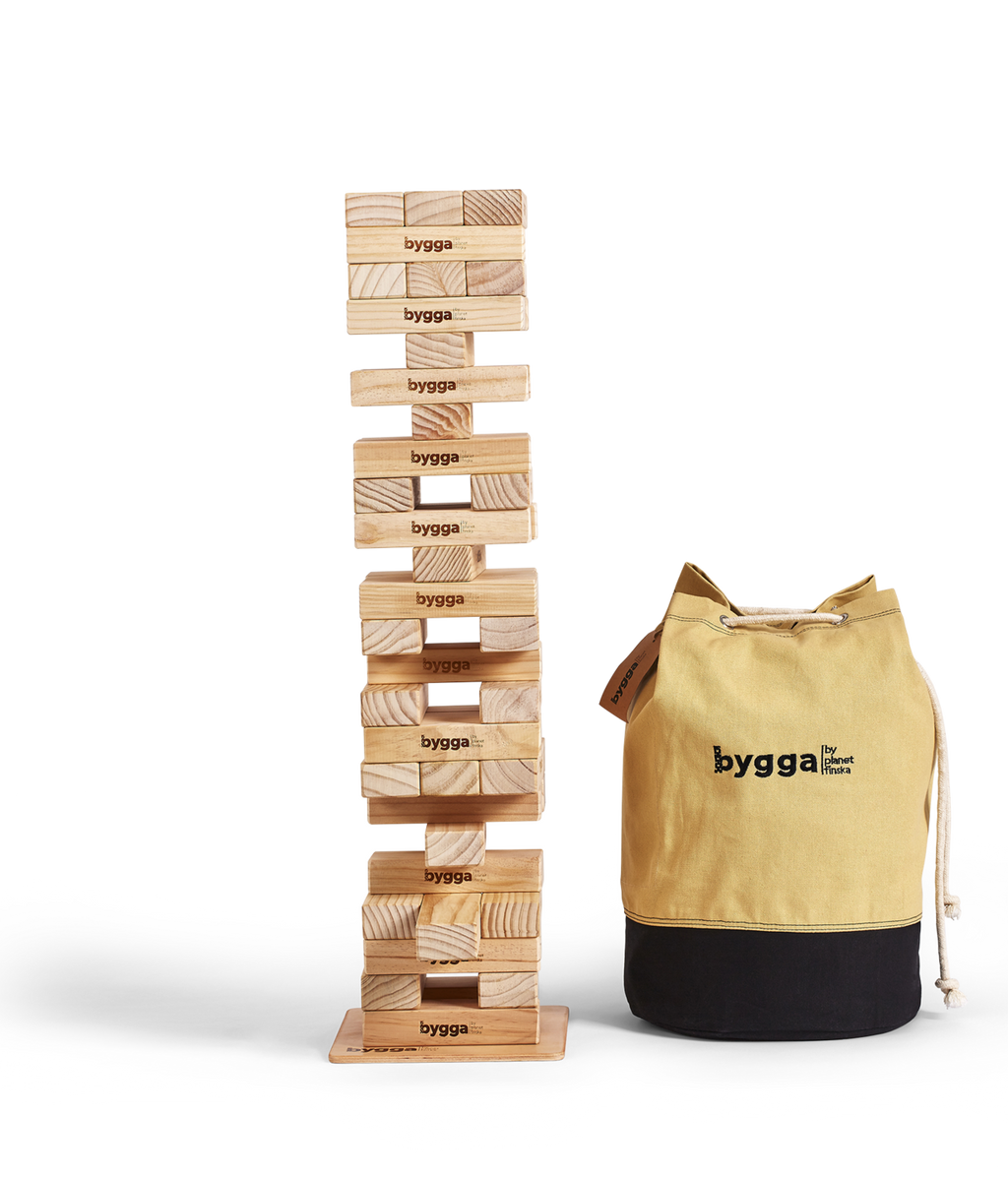 Bygga Tower (Giant Jenga)