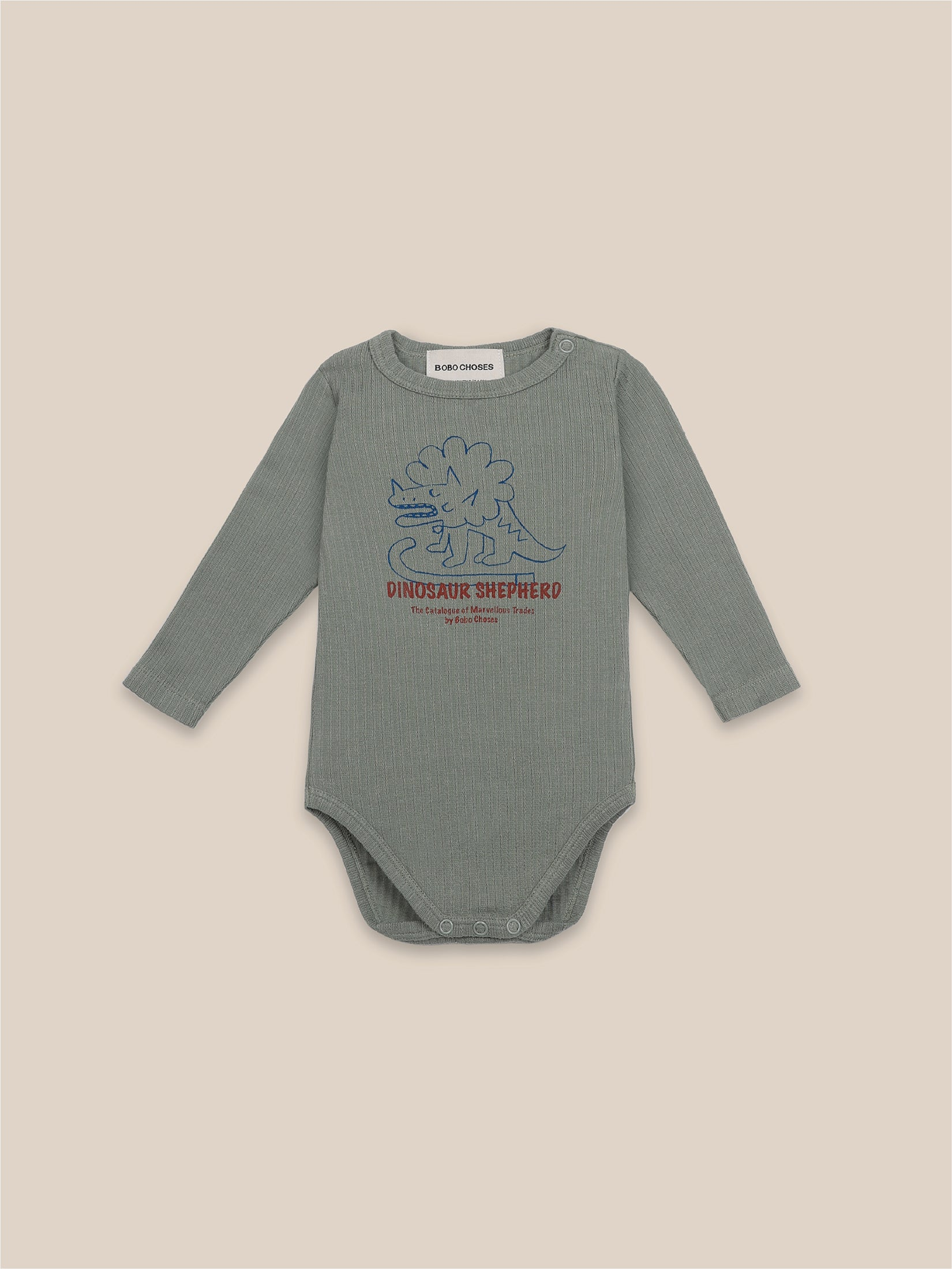 Dino Long Sleeve Bodysuit