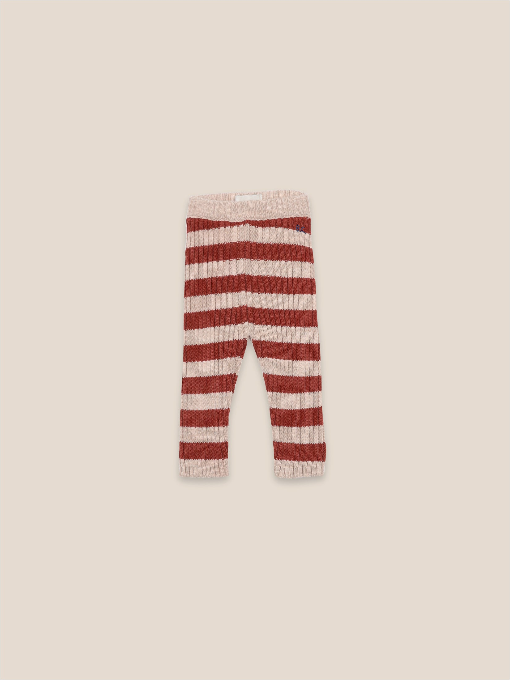 Striped Knitted Leggings