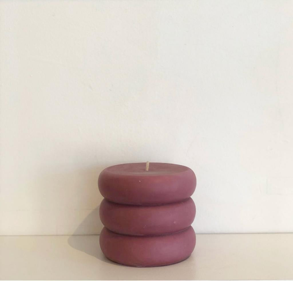 Rolly Polly Candle | Plum (Burnt Fig Cassis)
