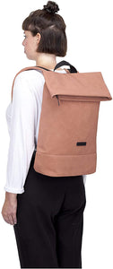 Karlo Backpack Suede | Salmon