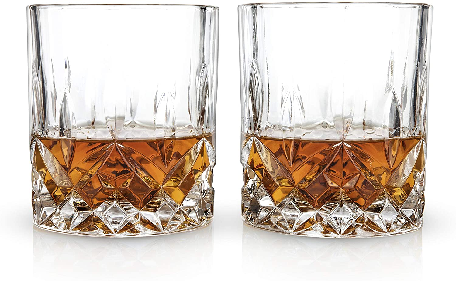 Admiral Crystal Tumblers | Set of 2
