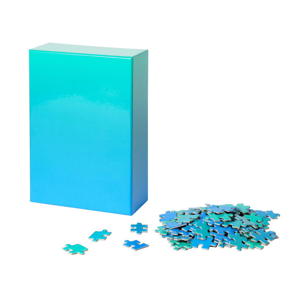 Blue Green | Gradient Jigsaw Puzzle