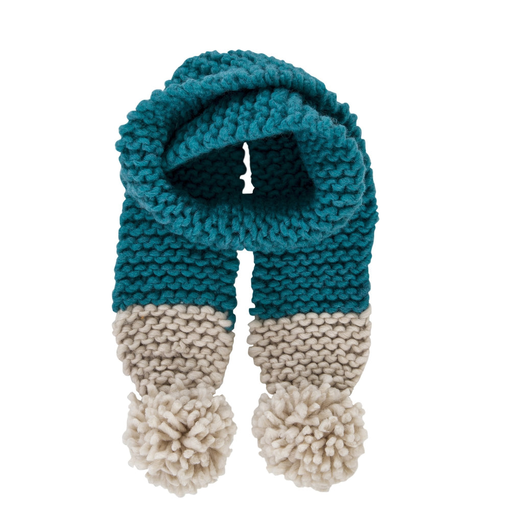 Traveller Chunky Scarf | Emerald