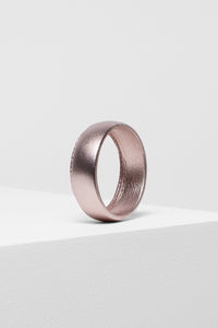 Salla Bangle | Metallic Rose Gold