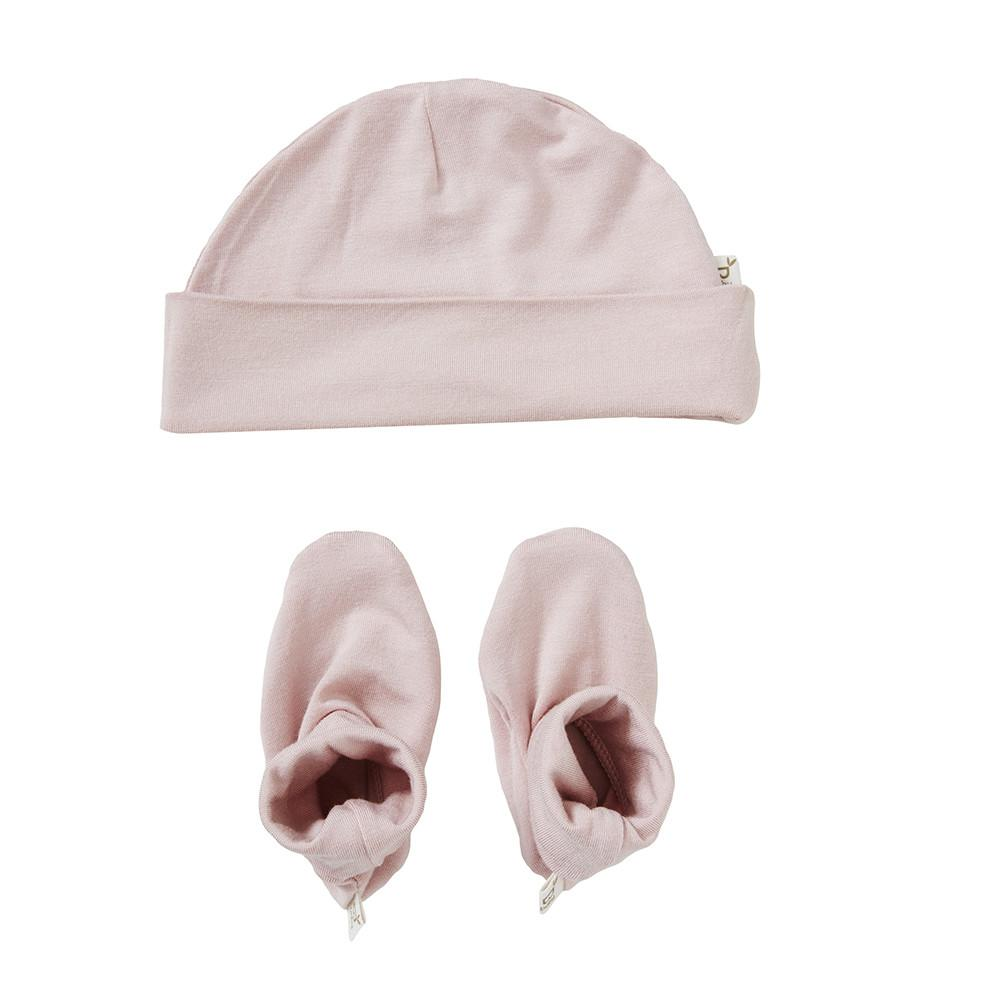 Rose Beanie & Booties