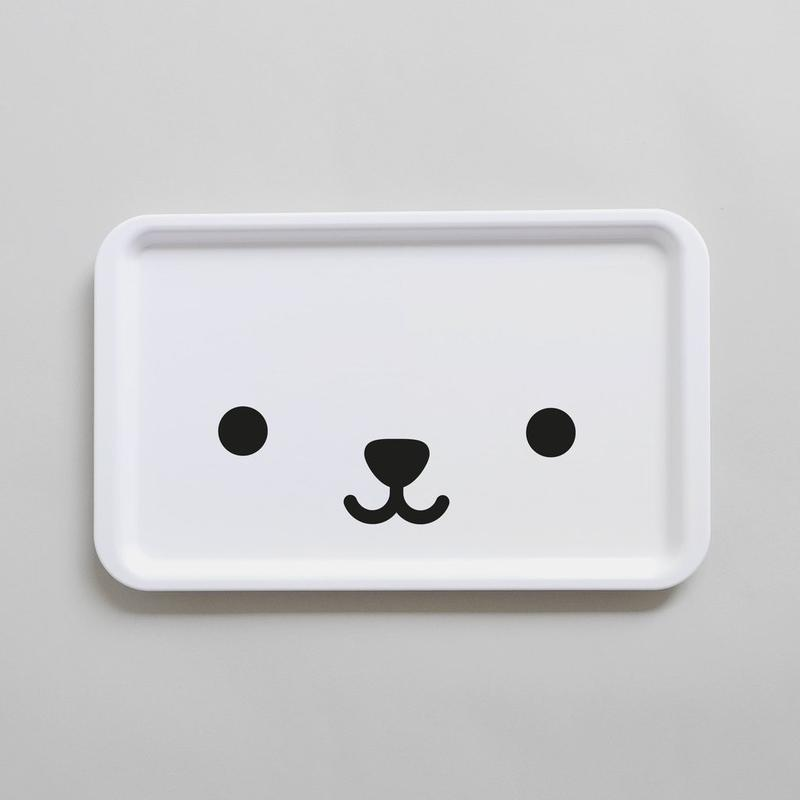 Bear Tray (Black)