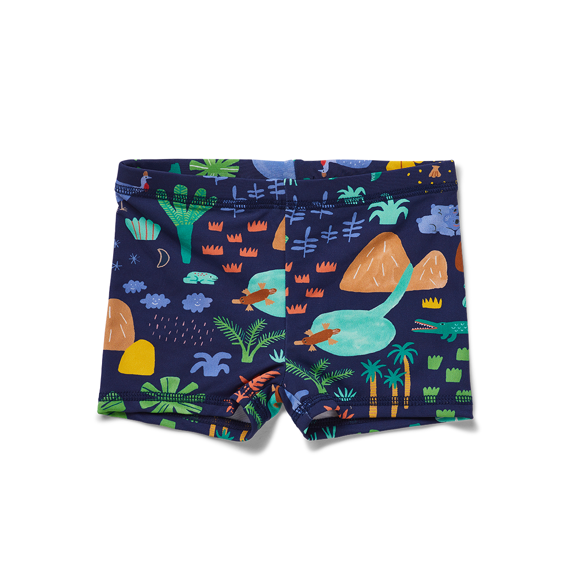 Kids Swim Short | Beach Forest