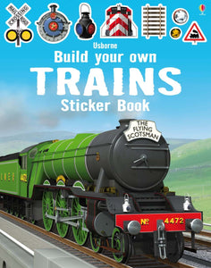 Build Your Own Trains Sticker Book