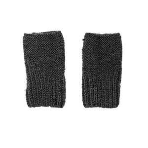 Campside Fingerless Mittens Charcoal