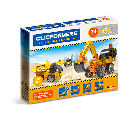 Clicformers Construction Set 74pc