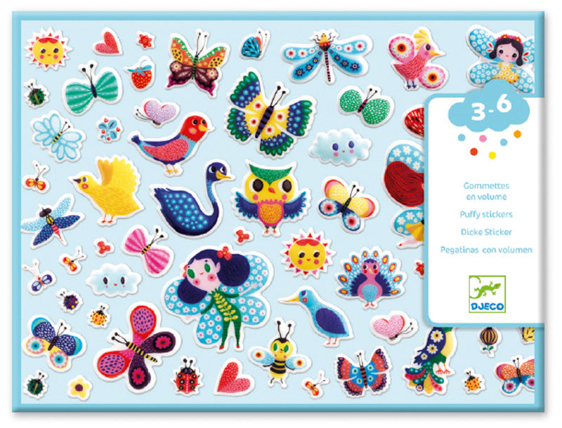 Little Wings | Puffy Stickers