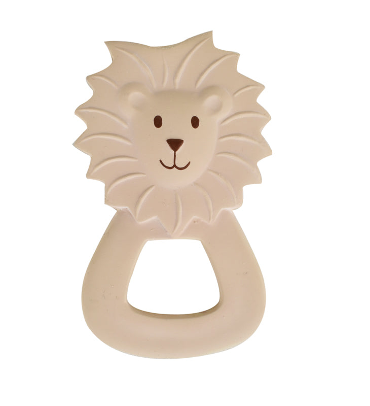 Rubber Zoo Teether | Lion