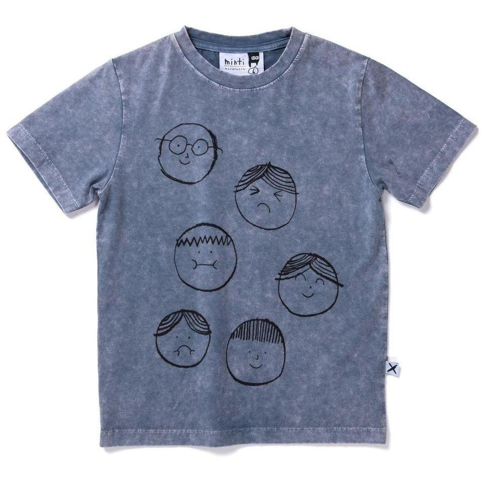 Different Faces Tee