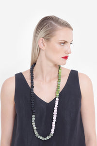 Eda Necklace | Lime Multi