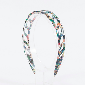 Waves Headband | Green Multi