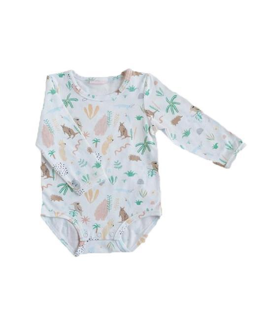 Long Sleeve Bodysuit Outback Dreamers