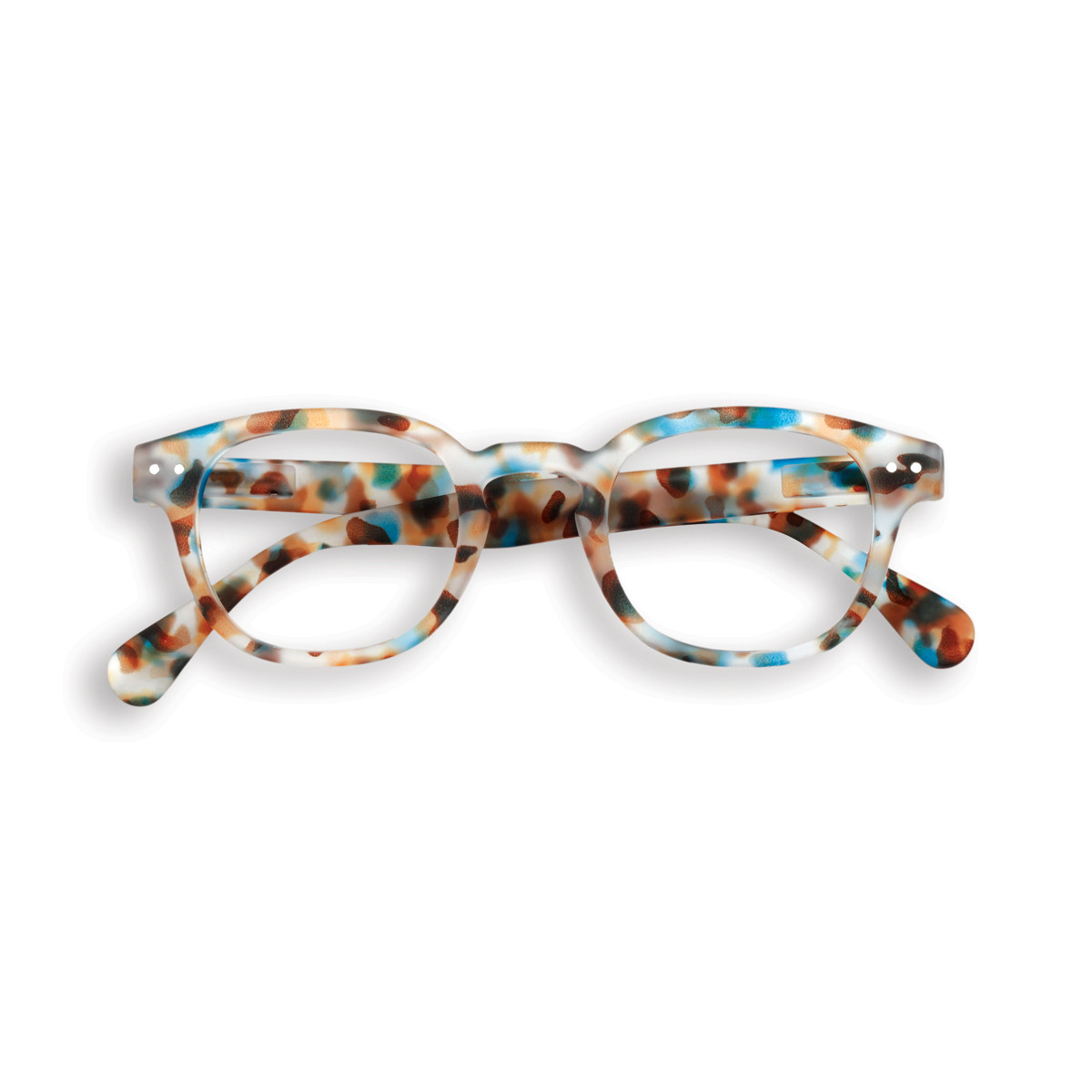 #C Screen Junior Sunglasses | Blue Tortoise