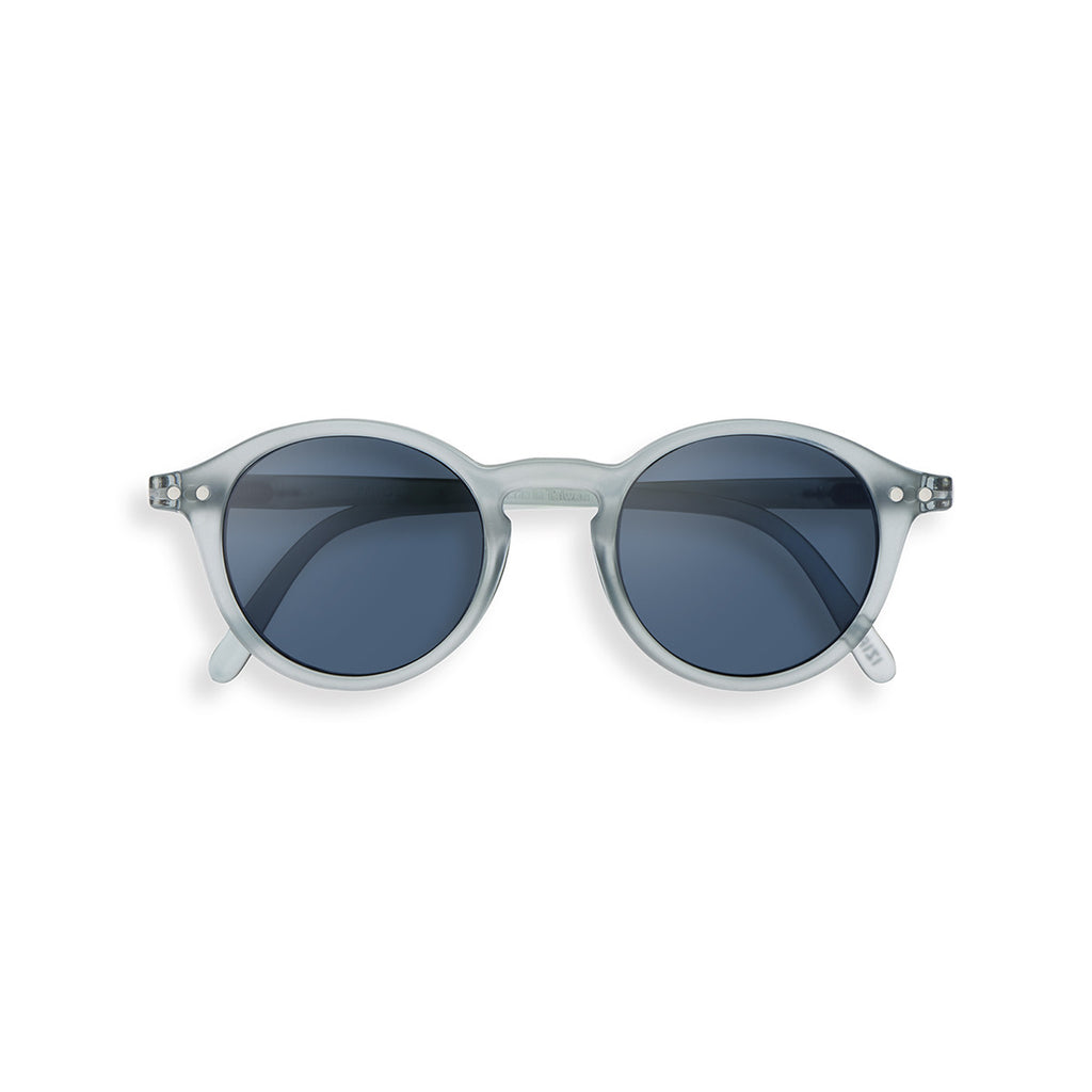 #D Glazed Ice Junior Sunglasses | Frosted Blue
