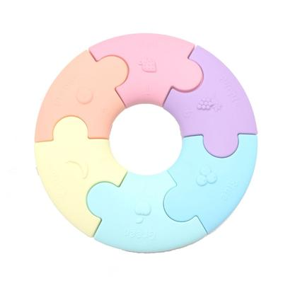 Colour Wheel Puzzle Teether | Pastel