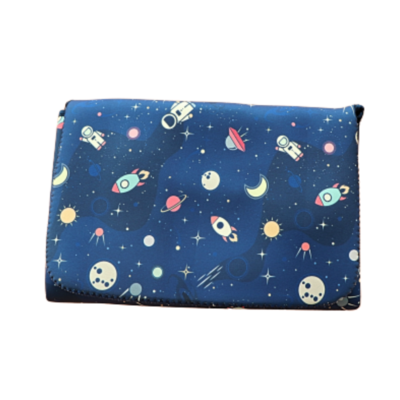 Neoprene Nappy Clutch | Blast Off