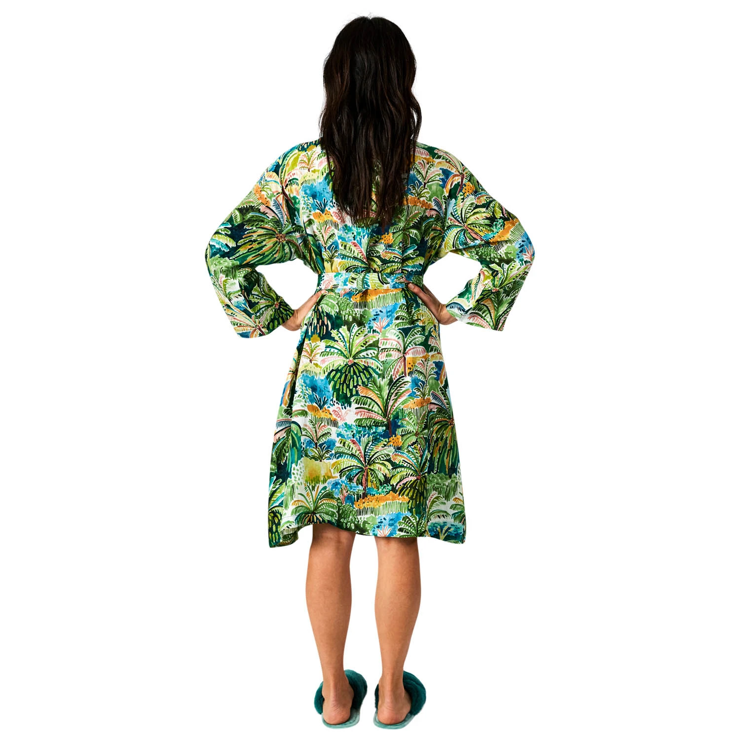 Colombo Linen Robe | One Size