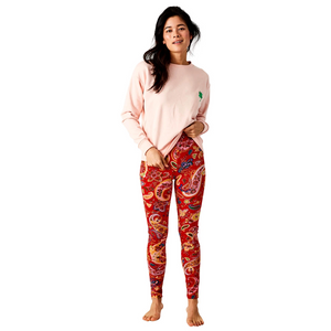 Paisley Scarlett Leggings