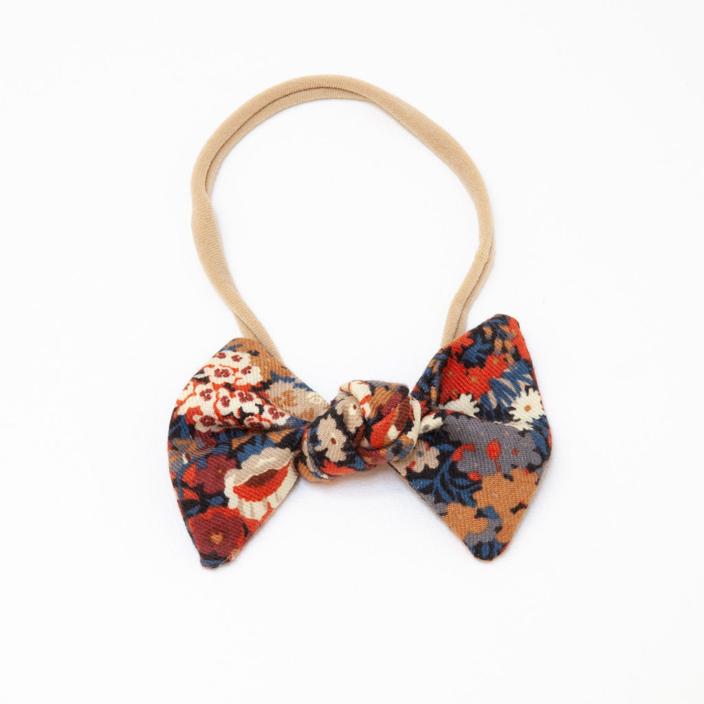 Lucille Elastic Bow Headband | Liberty Russet