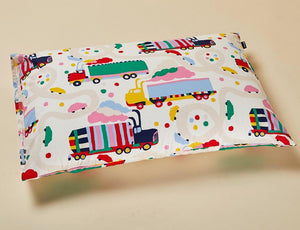 Single Pillow Case | Lorries