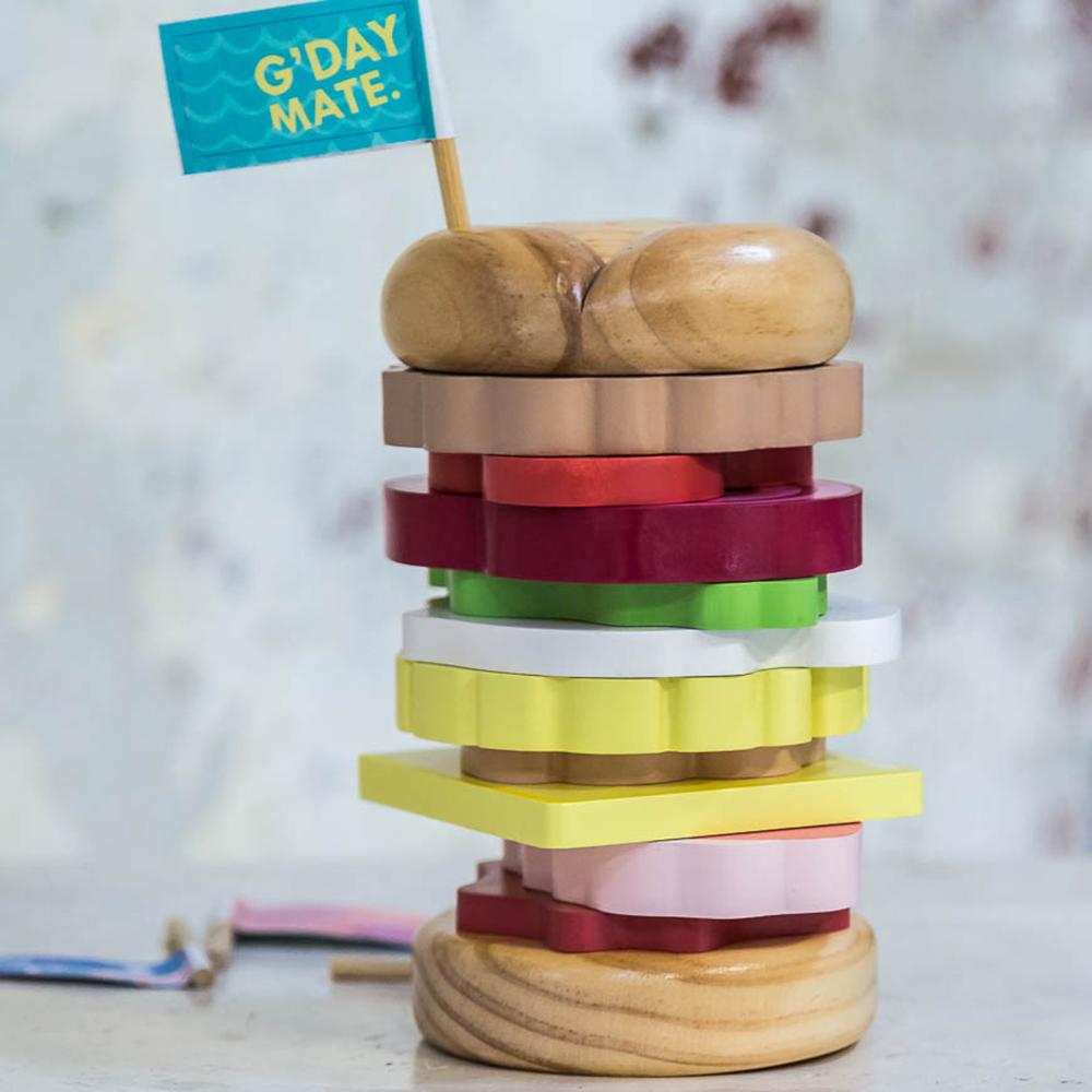 Iconic Stacking Burger