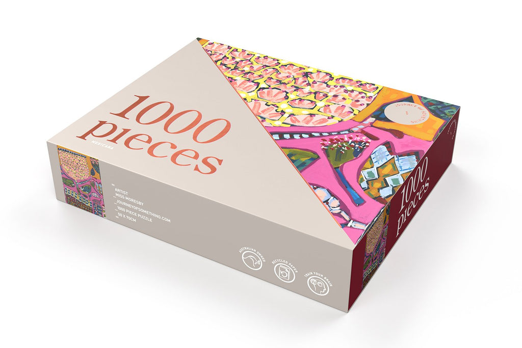 1000 puzzle | Mexicana
