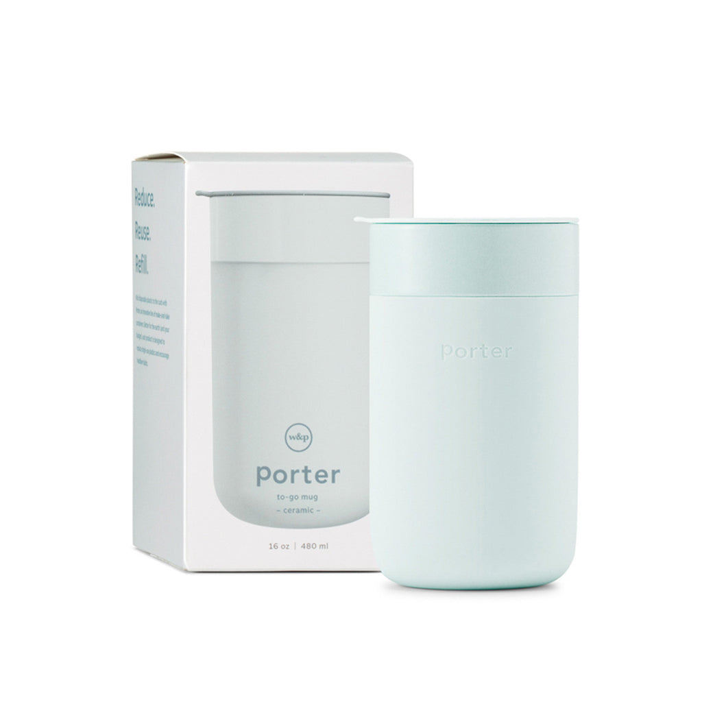 Porter Ceramic Mug | Mint 480ml