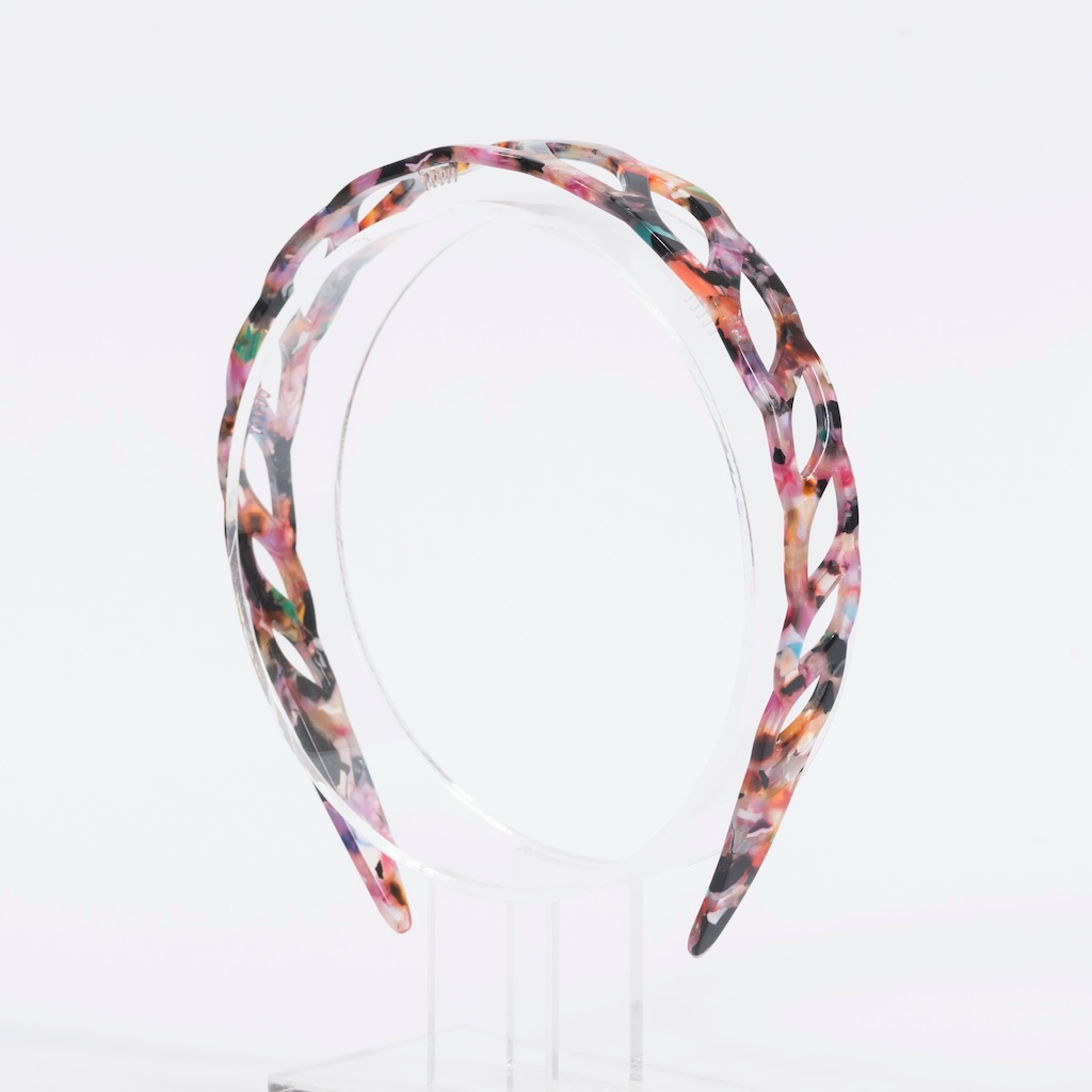 Waves Headband | Pink Multi