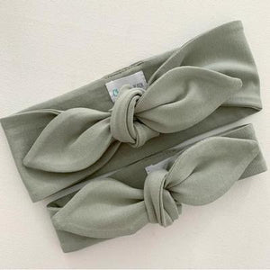 Top Knot Headband | Sage