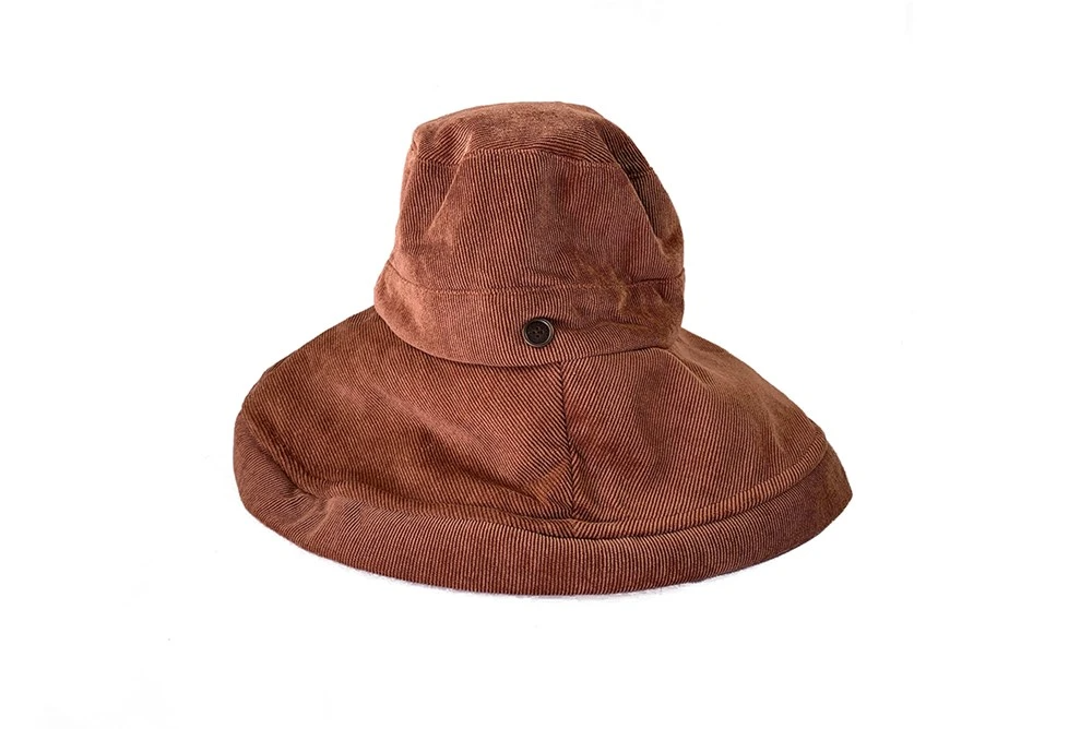 """The Sunday"" Corduroy Wide Brim Hat 