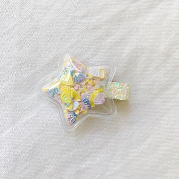 Starred Clip | Sea Yellow