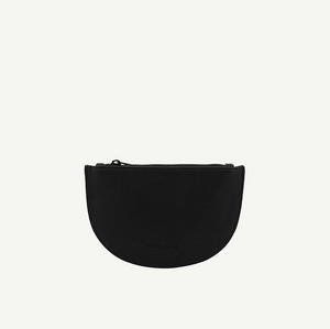 mondo half moon wallet | black