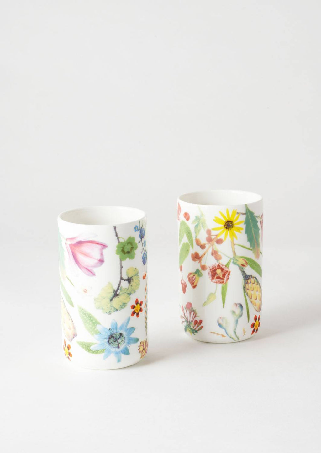 Spring Flowers Tumbler Set Of 2