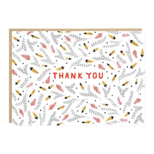 Sioux Thank You Card