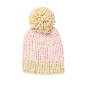 Traveller Chunky Beanie Pink