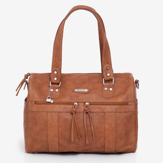 Indie | Tan Nappy Bag