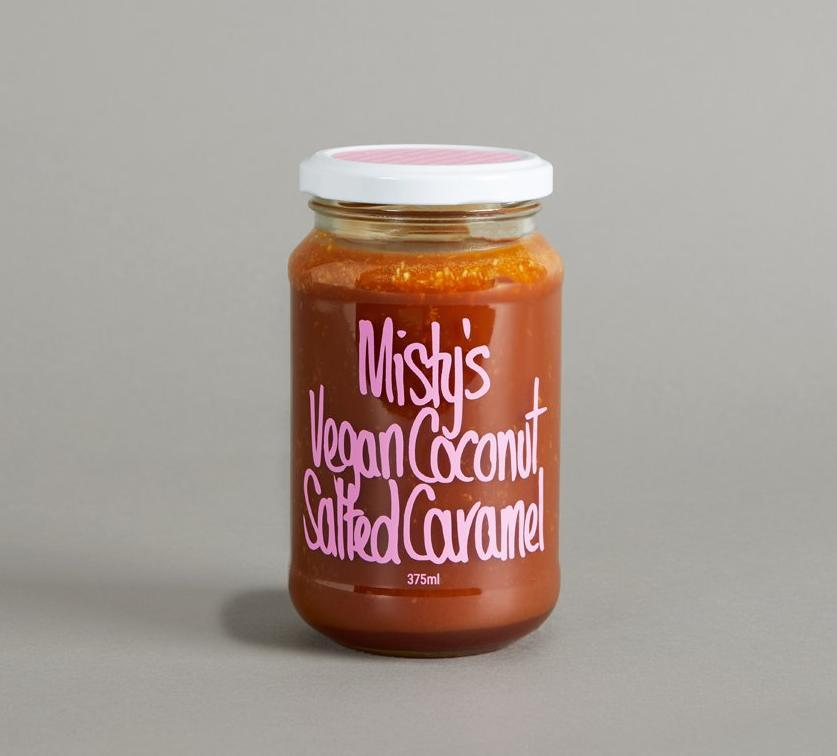 Misty's Vegan Salted Caramel