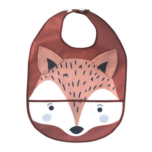Wipeable Feeding Bib | Fox